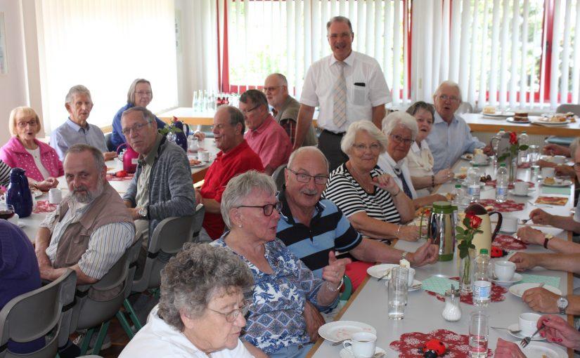 Bürgermeister Dieter Dzewas besucht die AG 60 Plus