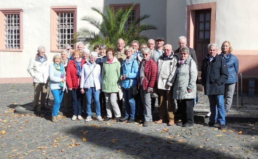 Tagesfahrt nach Weilburg