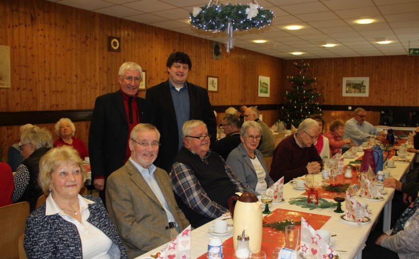 Senioren-Weihnachtsfeier wird ein gut besuchter Erfolg