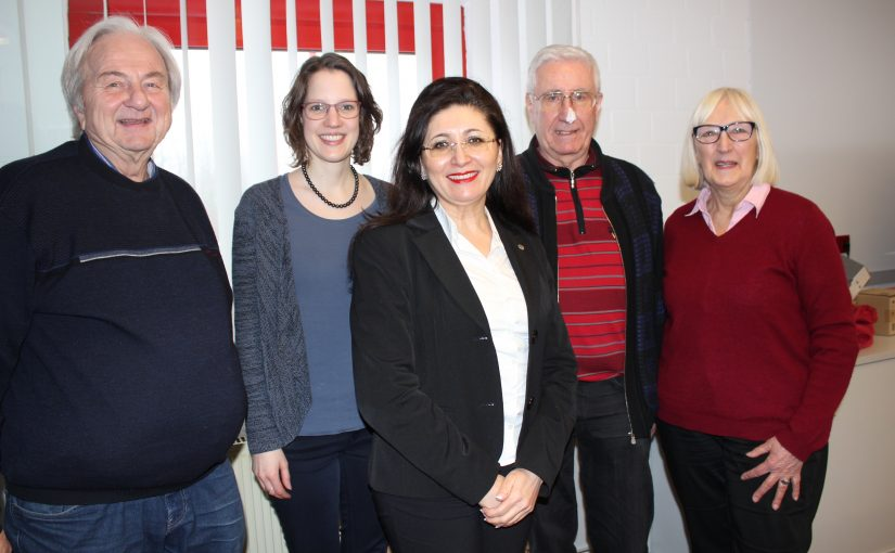Referat der AWO Vorsitzenden Karin Löhr und Klaus Wieber