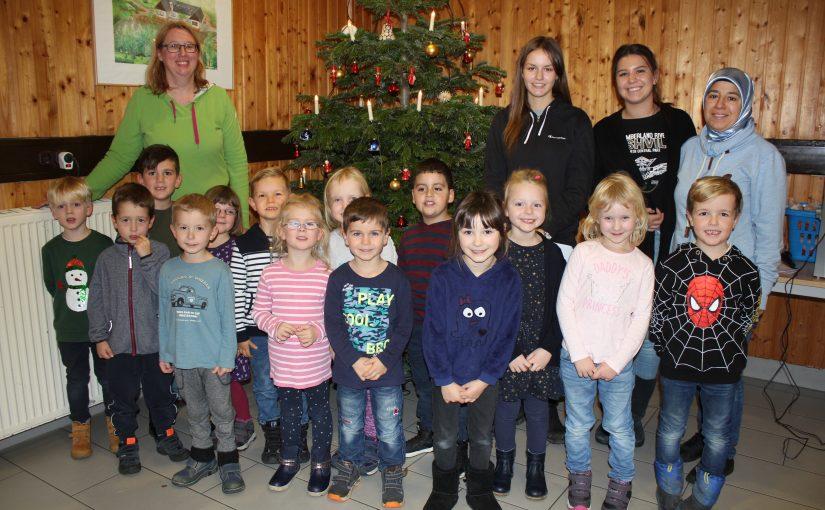 Weihnachtsfeier mit dem Kindergarten Kindertraum